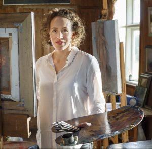 Frances Bell, traditional portrait painter