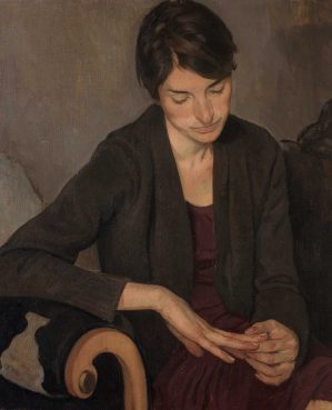 From our Annual Portrait Exhibtion at Mall Galleries