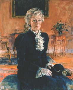 Mrs Robin Cracroft-Eley, High Sheriff of Lincolnshire