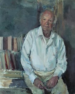 Portrait commission of Michael Tribe by Kathryn Kynoch