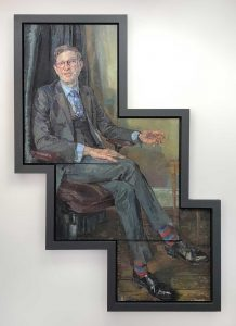 Portrait commission of a head master for Alleyns School, Dulwich